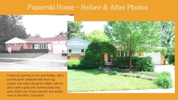 DWN Papierski Home – Before & After front yard for portfolio 6-2-16 pg 1 of 2