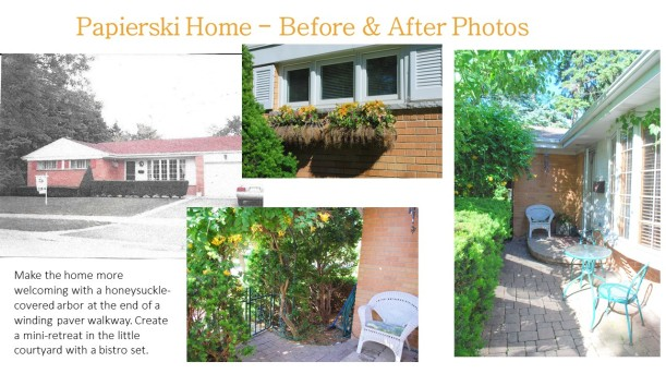 DWN Papierski Home – Before & After front yard for portfolio 6-2-16 pg 2 of 2