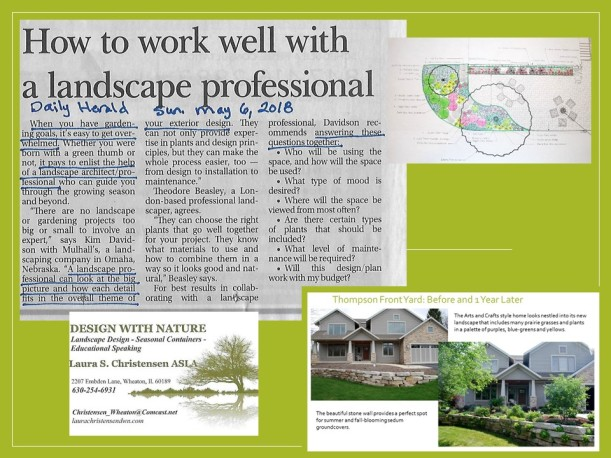DWN blog slide about why to hire a land arch