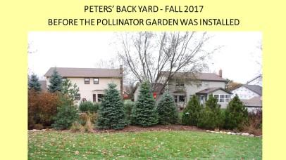 DWN Peters pollinator garden 8-3-18 slide 1 of 4