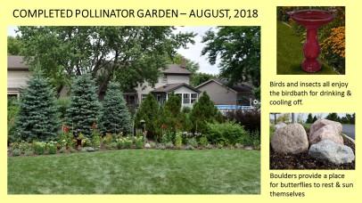 DWN Peters pollinator garden 8-3-18 slide 2 of 4