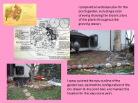 DWN Peters' Porch Garden slide 2 of 8 revised to include B and W plan - Copy